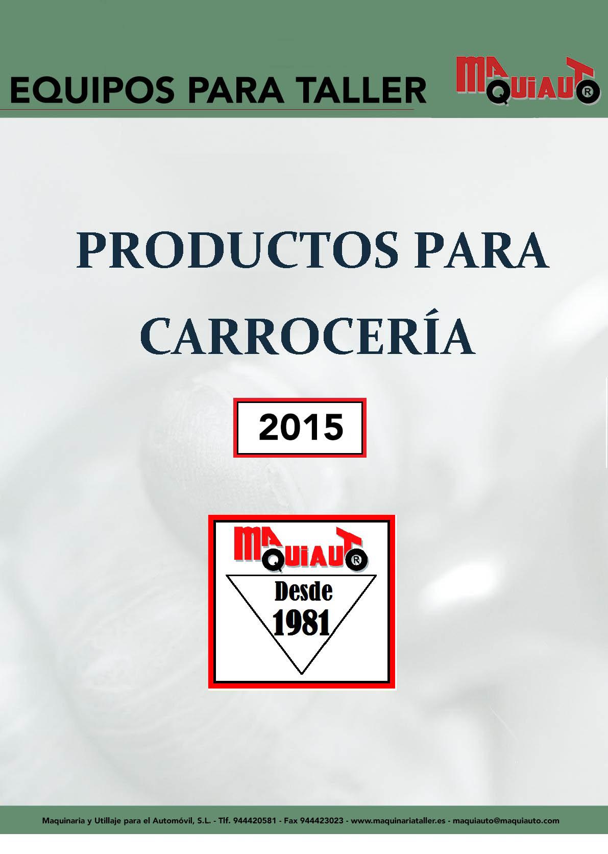 CATALOGO CARROCERIA 2015