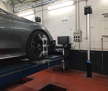 Alineador Homologado Mercedes MB-1
